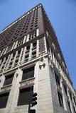 Historiska byggnader i centrum av staden Kansas Missouri royaltyfri fotografi