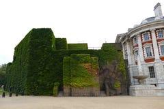 Historiska byggnader i London royaltyfri fotografi