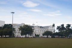 Historiska byggnader i Penang, Malaysia Royaltyfria Bilder