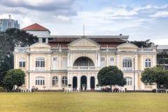 Historiska byggnader i Penang, Malaysia Royaltyfri Fotografi