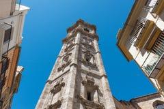 Historiska byggnader i Valencia, Spanien Royaltyfri Bild