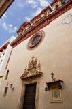 Historiska byggnader och monument av Seville, Spanien Spanska arkitektoniska stilar av gotiskt Maria Magdalena Arkivfoto