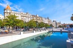Historiska byggnader Porto Royaltyfria Foton