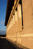 historiska byggnadskolonner Arkivbild