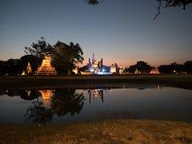 Historiska färgrika Sukhothai parkerar Royaltyfri Fotografi