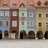 historiska facades royaltyfria foton