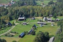 historiska hus Fotografering för Bildbyråer