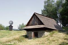 historiska hus Arkivfoton