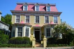 historiska hus Arkivbilder