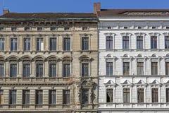Historiska hus i Goerlitz, Tyskland Royaltyfri Bild