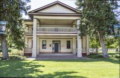Historiska Isaac Chase Home i Salt Lake City Utah Arkivbilder