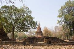 Historiska Kamphaengphet parkerar royaltyfria bilder