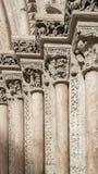 Historiska kolonner Arkivbild