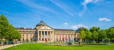 Historiska Kurhaus, Wiesbaden Royaltyfri Foto