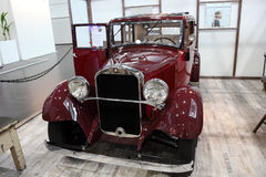 Historiska Mercedes Benz Car Royaltyfri Bild