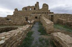 Historiska Pecos fördärvar Arkivbild