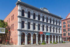 Historiska Pico House i Los Angeles, Kalifornien Arkivbilder