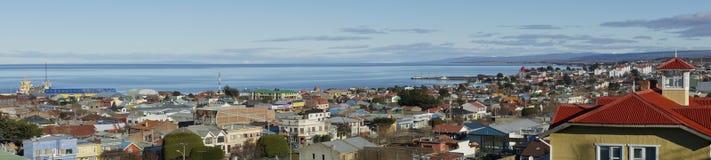 Historiska Punta Arenas, Chile Royaltyfri Foto