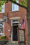 Historiska Roscoe Village, Coshocton Ohio royaltyfri foto