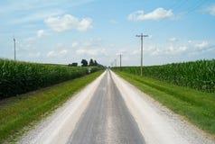 Historiska Route 66, Illinois, USA arkivfoto