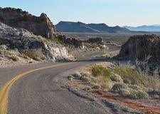 Historiska Route 66, sydvästliga USA Royaltyfri Bild