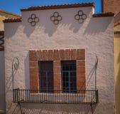 Historiska Santa Fe New Mexico Arkivfoto