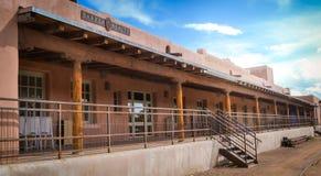 Historiska Santa Fe New Mexico Royaltyfria Foton