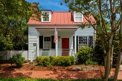 Historiska Savannah Home Royaltyfri Fotografi