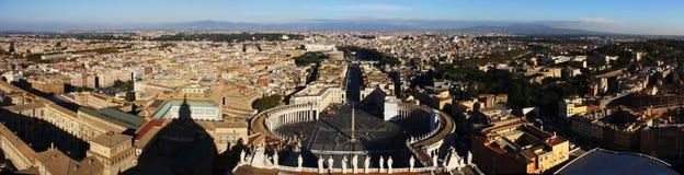 Historiska sikt av den forntida staden av Rome Royaltyfri Bild