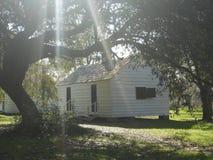 Historiska slav- Cabin South Carolina Royaltyfri Fotografi