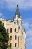 Historiska slottar av Ukraina arkivfoto