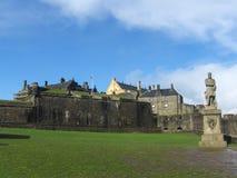 Historiska Stirling Castle, Skottland, Förenade kungariket Fotografering för Bildbyråer