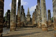 Historiska Sukhothai parkerar Arkivbilder