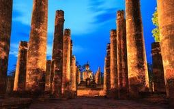 Historiska Sukhothai parkerar Arkivfoto