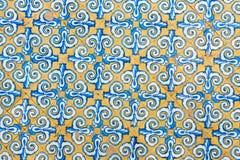 Historiska tegelplattor från regionen valencia, Spanien Royaltyfria Bilder
