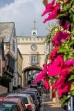 Historiska Totnes i Devon, England, Förenade kungariket Arkivbild