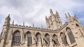 historiskt abbeybad Royaltyfri Foto