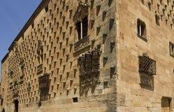 Historiskt arkiv i Salamanca, Spanien arkivbilder