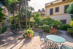 historiskt bad Banys araber i Palma de Mallorca royaltyfria bilder