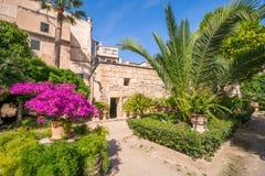 historiskt bad Banys araber i Palma de Mallorca arkivbilder