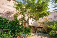 historiskt bad Banys araber i Palma de Mallorca arkivfoton