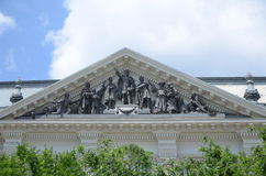 historiskt byggande Arkivfoton