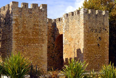 Historiskt Castelo DOS Governadores i Lagos Royaltyfri Foto