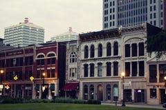 Historiskt centra av Louisville Royaltyfria Foton