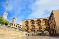 Historiskt centrera av Cordoba royaltyfria bilder