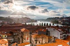 Historiskt centrera av Porto Royaltyfria Foton