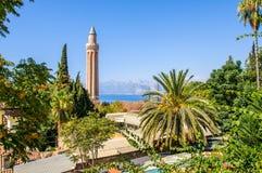 Historiskt centrum av Antalya, Turkiet Fotografering för Bildbyråer