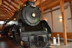 Historiskt drev för ångalokomotiv Arkivbilder