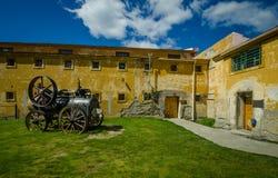 Historiskt fängelse av Ushuaia, Argentina royaltyfria bilder