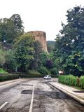 historiskt fästningtorn Royaltyfria Foton